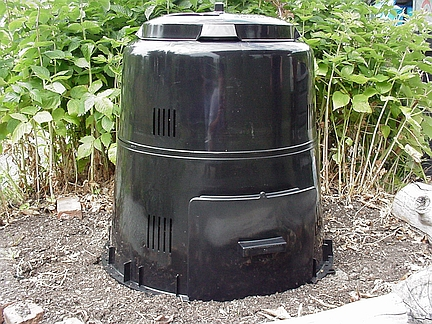 Earth Machine composter smaller